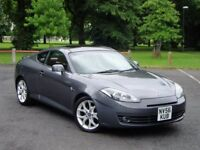 Hyundai Coupe 2.0 S3 A. Full 12 Months Mot. 87000 Miles. Service History. Manual. Leather. S111