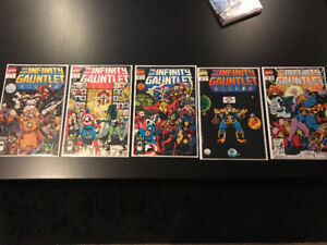 Infinity Gautlet #1 - 4, #6 (VF+ to NM)