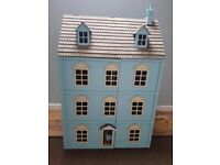 Furnished Dolls House with working lighting