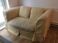 Two 2 seater Down filled sofas