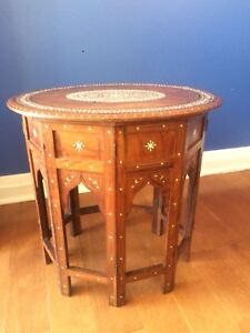 1900 Anglo Indian Table