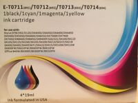 Ink Cartridges suitable for use with Epson Stylus models (see photo details)