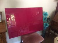 Premium quality glass splashback for range cooker