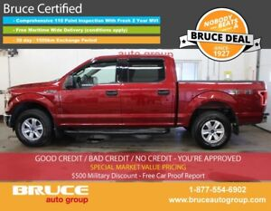 2015 Ford F-150 XLT 3.5L 6 CYL AUTOMATIC 4X4 SUPERCREW SATELLITE