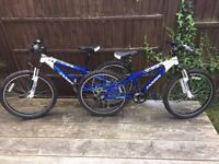 Childrens 24 inch wheel Jamis X-24 Mountain bikes. (2 identical bikes available)