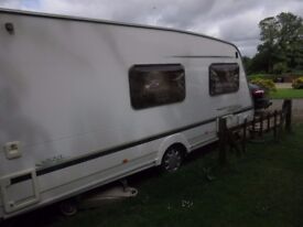 2004 Sterling Touring Caravan - 4 berth. Ready to hitch up and go.