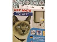 Magnetic Catflap
