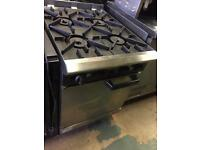 4 BURNER COMMERCIAL COOKER