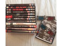Selection of Horror DVDs