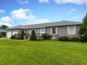 Oxford Mills Horse Farm - $585,000 Bungalow with 48+ Acres!