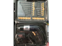 Cordless Screwdriver 4.8V Boxed, Unused.