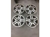 Ford Focus Fiesta Ka 4x108 15x6 alloy wheels