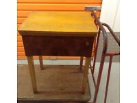 Phoenix sewing machine and table