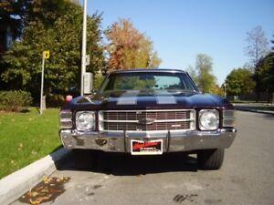 1971 El Camino REDUCED was ($25000.00) NOW $21500.00