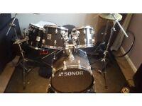 Sonor Force 3001 6 Piece Drum Kit £300