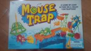 amazing board games for sale-mouse trap, trivial