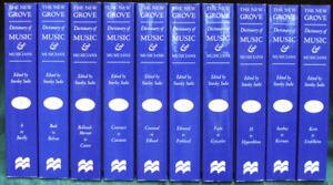 The New Grove Dictionary of Music (20 volumes), New, Sealed