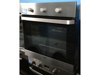 Y211 stainless steel beko single electric oven comes with warranty can be delivered or collected