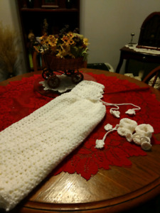 Victorian Newborn Cape & Booties - best offer