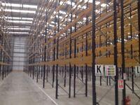 job lot 50 bays , will split , of redirack pallet racking AS NEW( storage , industrial shelving )