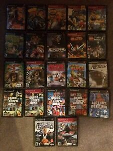22 PlayStation 2 Game Lot