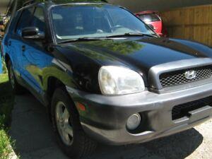 2001 Hyundai Santa Fe GLS SUV, Crossover