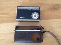 Collectable Russian Vega Ruby Transistor Radio