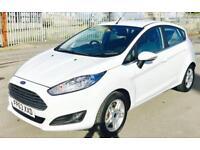 FORD FIESTA 1.2 ZETEC 5d 81 BHP (white) 2014