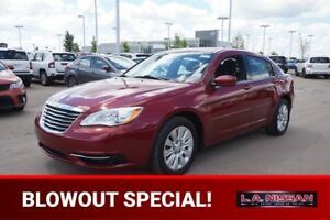 2013 Chrysler 200 LX Accident Free,  A/C,