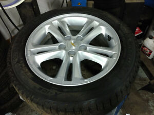 OEM TPMS / 205 55 16 Michelin 2017 Chevy Cruze alloy rims 5x105
