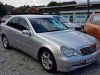02 MERCEDES C220 CDI AVANTGARDE - FULL LEATHERS - PX WELCOME