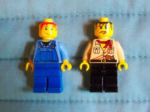 2 bonhommes ou personnage LEGO pour 3$