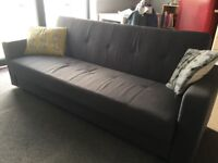Click action sofa bed....ideal for occasional use.
