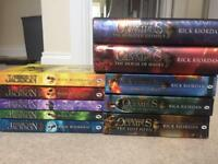 'Percy Jackson' Series and 'Heroes of Olympus' Series.