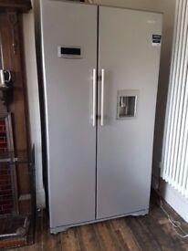 American style Beko fridge freezer for sale