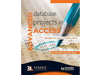 Advanced database project in Access 2007 (practically new condition) (CAN POST)