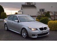 BMW 525D M Sport LOW MILES!! (mercedes audi sport sline coupe golf volkswagen jetta passat)