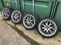 MINI COOPER R56 GENUINE ALLOYS WHEELS 17'