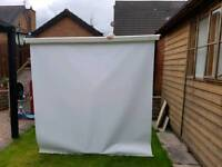 Projector Screen 6ft x 6ft wall mountable