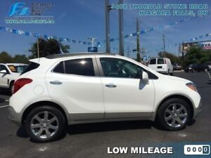 2013 Buick Encore Leather  LEATHER,ALLOYS,HEATED STEERING,SUNROO