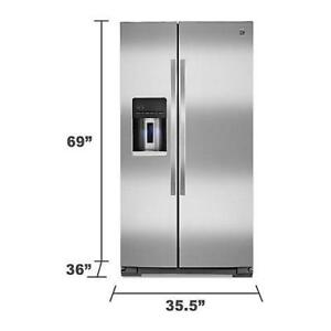 Fridge $1700. Brand new. 905-515-4307 FREE delivery.