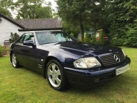 STUNNING MERCEDES BENZ R129 FACELIFT MODEL SL320 V6 1 OWNER FROM NEW ICONIC