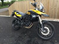 BMW F800 GS with lots of extras