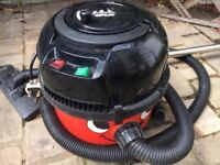 Henry vacuum cleaner 2 speed