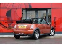 2011 MINI One 1.6 One 2 door Petrol Convertible
