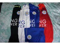 Leicester City FC 2016/17 Season Shirts - All 4 Shirts - Medium