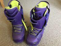 Rome Snowboard Boots, purple - Size 6.5