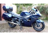 TRIUMPH SPRINT 1050 GT SE ABS1 – PACIFIC BLUE - 13,750 miles - Registered Oct 2012 – Owned from New