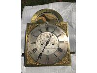 Very interesting George Graham Grandfather clock