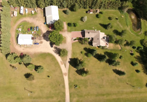Acreage on 2.02 acres east of Olds
